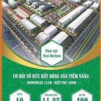 Ra hàng 25 lô liền kề cuối cùng tại dự án khu đô thị Nam Hải New Horizon, giá từ 10 – 13 triệu/m2