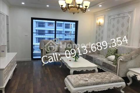 Cho thuê căn hộ chung cư Goldmark City style tân cổ điển (162m2, 4 phòng ngủ, căn hiếm của dự án)