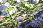 Dự án gồm nhiều hạng mục như nhà phố, diện tích cây xanh tạo cảnh quan và nhiều dịch vụ tiện ích.