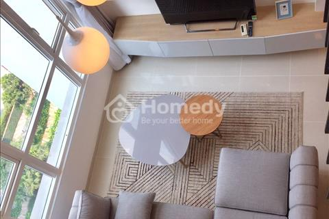 Bán căn hộ Duplex Vista Verde 2 phòng ngủ, đầy đủ nội thất, nhà đẹp, giá hợp lí