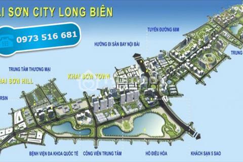 Khai Sơn Town - Khai Sơn City Long Biên - Shophouse - giá tốt