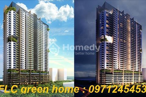 Nhận nhà ở ngay chỉ từ 1,1 tỷ/căn, 2 phòng ng, FLC Green Home, 18 Phạm Hùng