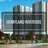 Căn hộ Homyland 3 Nguyễn Duy Trinh Quận 2, thanh toán 40% nhận nhà hoàn thiện thiết bị Châu Âu