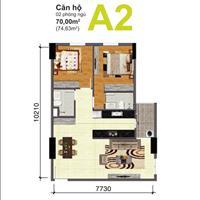 Cần bán căn góc, tầng cao, block B, view Quận 1 chung cư Bộ Công An, quận 2