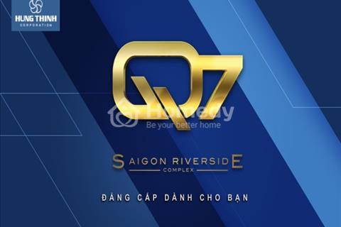 """Điểm sáng Q7 - Dự án 7,5 ha, ven sông Sài Gòn - Liền Kề """"Mũi Đèn Đỏ"""" Quận 7"""