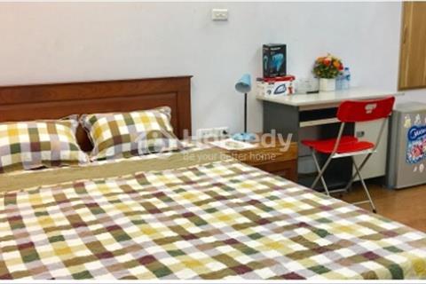 Cho thuê căn hộ 1phòng ngủ đủ đồ phố Đội Cấn, Ngọc Hà, giá chỉ 5,9 triệu/tháng
