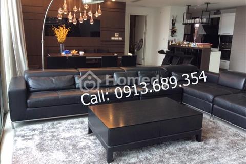 Cho thuê căn hộ Penthouse chung cư Mandarin Garden, 286m2, 4 ngủ, đồ sang trọng view hồ Nhân Chính