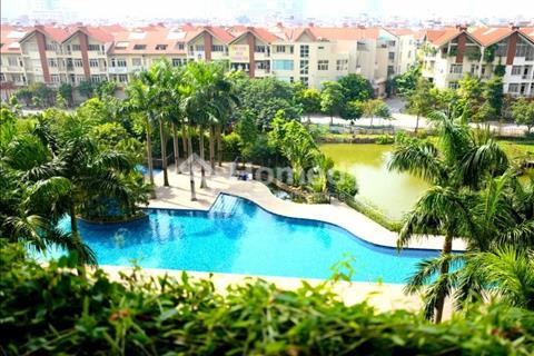Cho thuê chung cư Mulberry lane- Mỗ Lao, 120m2, 3 ngủ, cơ bản, view bao trọn bể bơi.
