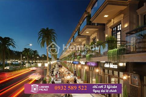 Nhận đặt chỗ 100 triệu/căn dự án Shophouse Lakeside Infinity 94 căn 4 tầng, Liên Chiểu Đà Nẵng