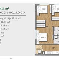 Bán cắt lỗ căn hộ 3 phòng ngủ dự án Valencia Garden về ở ngay