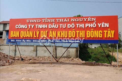 Đất nềnkhu nhà phốShophouseđô thịĐông Tây - Phổ Yên - Thái Nguyên