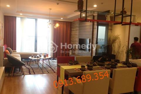 Cho thuê căn hộ chung cư Vinhomes 56 Nguyễn Chí Thanh, 127m2 trẻ trung, hiện đại, xem ảnh