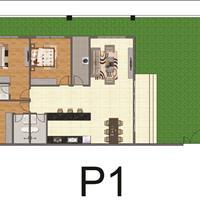 Penthouse chung cư Bộ Công An quận 2, full nội thất