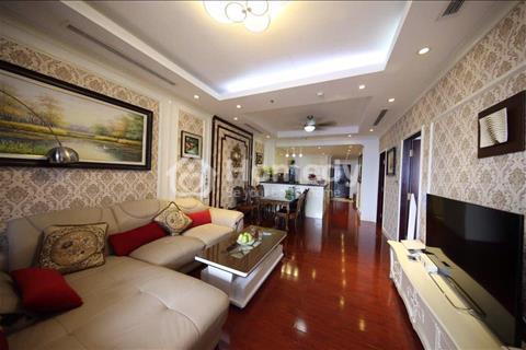 Cho thuê chung cư cao cấp Royal City, căn hộ 2 phòng ngủ full ánh sáng, 130m2