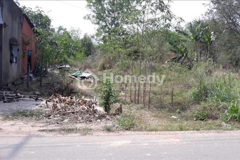 Bán gấp lô đất mặt tiền đường nhựa Bến Súc, xã An Phú, Củ Chi, 19m x 65m nở hậu (có 30m2 thổ cư)