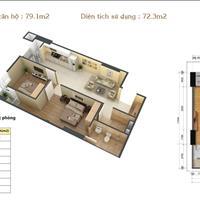 Bán căn hộ chung cư Gemek Tower mặt đường Lê Trọng Tấn giá 16,6 triệu/m2, 79m2 nhận nhà ở ngay