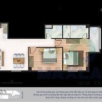 Bán gấp căn góc tầng 8 chung cư Yên Hòa, 88,6m2 thiết kế được 2 phòng ngủ