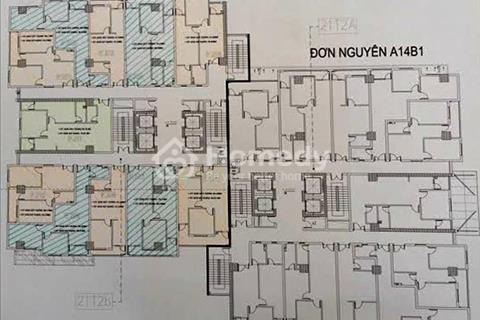 Bán căn hộ chung cư tại A10 - A14 Nam Trung Yên - Quận Cầu Giấy - Hà Nội 65m2 giá 28 triệu/m2