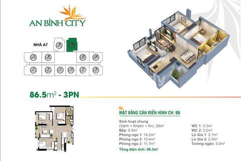 Chính chủ bán 2 căn 1508 và 1604 tòa A8 chung cư An Bình City