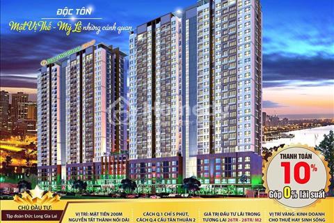 Chủ nhà cần bán căn hộ Đức Long Golden Land Quận 7 giá thấp hơn chủ đầu tư khoảng 150 triệu đã VAT