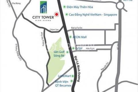 Cần chuyển nhượng lại căn hộ cao cấp Luxury Residence, gần Aeon Mall, 2 phòng ngủ, 60m2