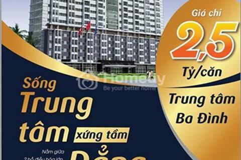 Mở bán đợt cuối 7 căn Duplex thông tầng tại chung cư C1 Thành Công giá chỉ 40 triệu/m2