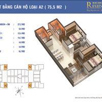 Tôi cần bán căn góc diện tích 75,5m2 giá 30 triệu/m2 tại chung cư Golden West – số 2 Lê Văn Thiêm