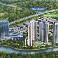 Sang Úc cần sang nhượng lại căn hộ 2 phòng ngủ Palm Heights - tầng 27 - view hồ bơi - view sông