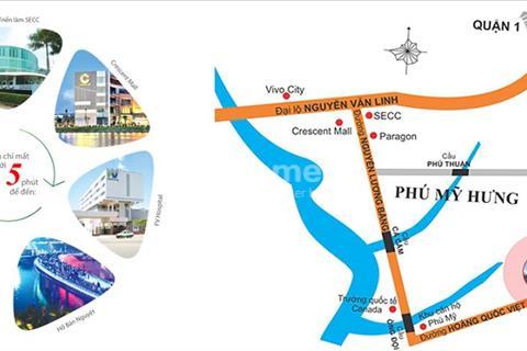 Kẹt tiền bán lỗ căn 3PN Saigon Plaza Tower 95m2, nhận nhà ngay, view sông thoát mát, chỉ 1,9 tỷ