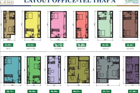 Bán chuyển nhượng Officetel dãy liền kề 5 căn dự án Botanica Premier, mặt tiền Hồng Hà