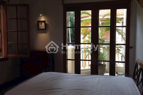Cho thuê nhà biệt thự vườn ngõ Thông Phong, đường Tôn Đức Thắng 4 tầng, full nội thất
