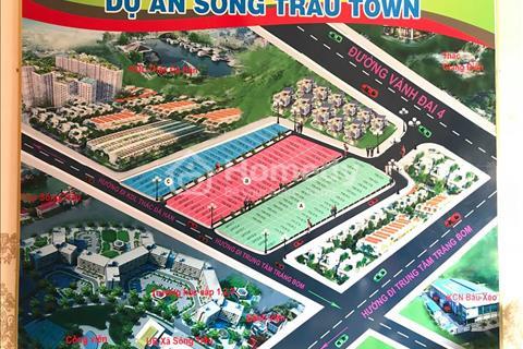 Dự án Sông Trầu Town - Trảng Bom, vị trí tại ấp 5, xã Sông Trầu, Trảng Bom, Đồng Nai