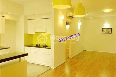 Cho thuê chung cư Sudico Mỹ Đình Sông Đà, căn góc, sàn gỗ tự nhiên - 133m2, 3 phòng ngủ, cơ bản