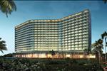 Mövenpick Hotel có 250 phòng tiêu chuẩn quốc tế, được thiết kế hướng biển và nhìn thấy biển.