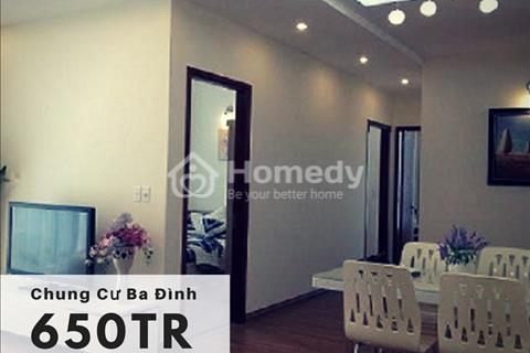 Chủ đầu tư bán chung cư mini Đội Cấn 650 triệu - 990 triệu/căn, đủ nội thất, nhận nhà ở ngay