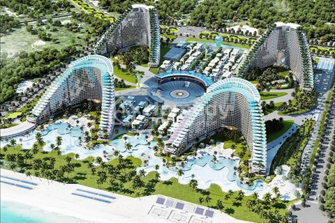 Chỉ 450 triệu, sở hữu căn hộ nghỉ dưỡng mặt biển Bãi Dài, vay 70%, full nội thất 5 sao