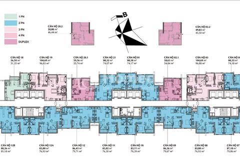 Chính chủ cần bán gấp chung cư  22-04 A3 Vinhome Gardenia Mỹ Đình 74, 18m2, giá: 31 triệu/m2