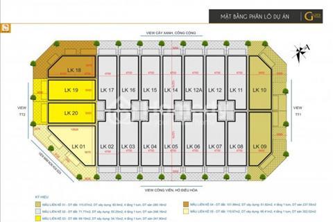 Bán nhà liền kề đẹp Golden Pearl Kim Văn Kim Lũ, 72m2, 50 triệu/m2