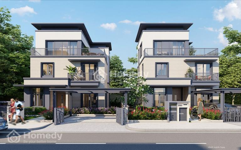 Swan Bay - Dự án trên đảo lớn nhất cách quận 1 30 phút, chỉ 2.5 tỷ/căn nhà phố biệt thự cao cấp