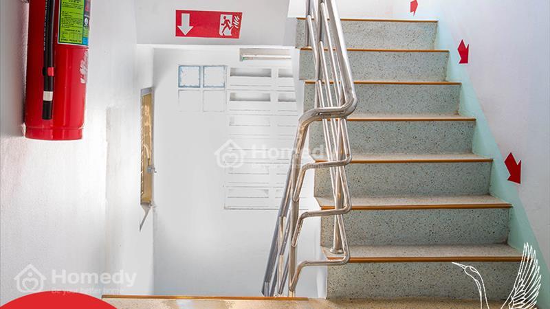 Kết quả hình ảnh cho hệ thống thang thoát hiểm vượt chuẩn hinode city