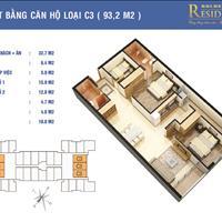 Chính chủ bán cắt lỗ căn 93,2m2 giá 27,5 triệu/m2 chung cư Golden West số 2 Lê Văn Thiêm