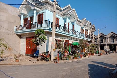 Nhà hai tấm đang xây gần chợ Lâm Phát, Hòa Lân 100% thổ cư