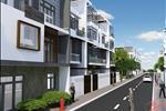 Các căn nhà phố có diện tích đa dạng từ 80 – 110m2 được thiết kế 1 tầng trệt, 2 tầng lầu và sân thượng.