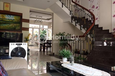 Nhà cho thuê khu dân cư Văn Minh sang trọng, 108m2, nội thất cao cấp, hầm rộng