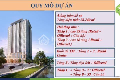 Mở bán Shophouse dự án Saigon Royal Residence đường Bến Vân Đồn quận 4, con gà đẻ trứng vàng