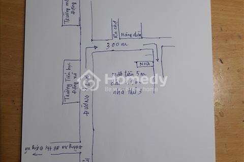 Nhà 2 tầng diện tích sử dụng 145m2, đường ô tô 6m tại đường Ỷ Lan - Gia Lâm