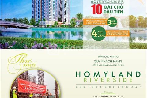 Homyland Riverside - mặt tiền đường Nguyễn Duy Trinh, quận 2