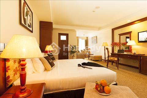 Bán khách sạn 8 tầng, có thang máy phố Lê Đức Thọ, 82m2, mặt tiền 5m, lô góc 2 mặt, đường 10m