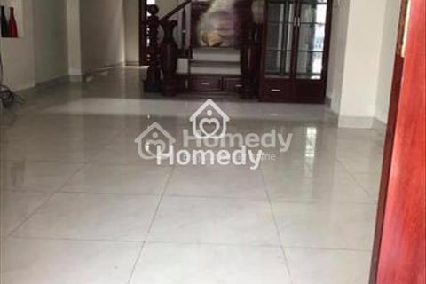 Cho thuê nhà mặt tiền đường D3 phường 25, quận Bình Thạnh, diện tích 15x20m, 1 triệt 2 lầu