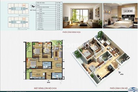 Vợ chồng tôi cần bán gấp căn 123m2 giá 30 triệu/m2 chung cư CT4 Vimeco Nguyễn Chánh